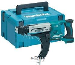 Makita LXT DFR550RMJ 18v Auto Feed Screwdriver Li-Ion 2 x 4.0ah Batteries + Case