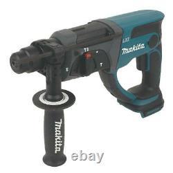 Makita SDS Rotary Hammer Drill Plus Drill DHR202Z 18V Li-Ion LXT Cordless Bare