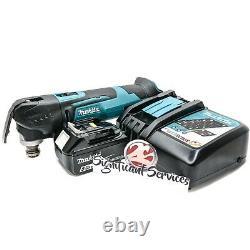 Makita XMT03Z 18V LXT Cordless Oscillating Multi-Tool Li-ion 5.0 Ah Battery Kit