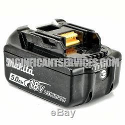 Makita XRJ05Z 18V LXT Li-Ion Brushless Reciprocating Saw 5.0 Ah Batteries Kit