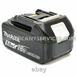 Makita XRJ07ZB 18V LXT Li-Ion Brushless Cordless Reciprocating Saw 5.0 Batteries