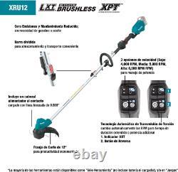 Makita XRU12Z 18V LXT Li-ion Brushless Cordless String Trimmer, Tool Only