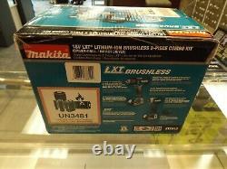 Makita XT281S 18V LXT LiIon Brushless Cordless 2Pc. Combo Kit, BRAND NEW