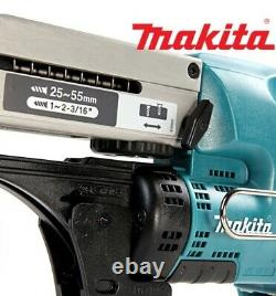 New Makita DFR550Z 18V LXT Li-ion Cordless Auto Feed Screwdriver Body Only
