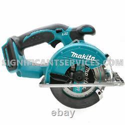 New Makita XSC01Z 18V LXT Li-Ion Cordless 53/8 Metal Cutting Circular Saw