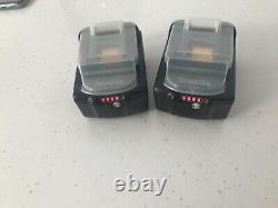 Two Genuine Makita 18V 5.0Ah Li-Ion LXT Battery BL1850 5AH Star Battery BL1850B