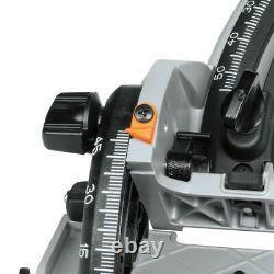 18v X2 Lxt LI Ion Plunge Circular Saw Cordless Battery 55t 6.5 Dans Carbide Blade