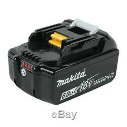 2x Véritable Makita 18v 6.0ah Li-ion Lxt Batterie Bl1860 6ah New Star Batterie