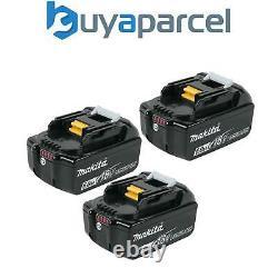 3x Véritable Makita 18v 6.0ah Li-ion Lxt Batterie Bl1860 6ah New Star Battery