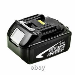 4x Pour 18v Makita Bl1850 Bl1860 18 Volts 5.0ah Lxt Li-ion Batterie Sans Fil Bl1840