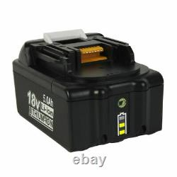 4x Pour Makita Bl1860b Bl1850b Lxt 18v Li-ion Battery 5ah Led Gauge Bl1840 Bl1815