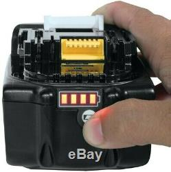 5 X Véritable Makita 18v 5.0ah Li-ion Lxt Batterie Bl1850 5ah Étoile Batterie Bl1850b