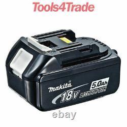 Batterie Authentique Makita Bl1850 18v 5.0ah Lxt Li-ion Makstar Battery Pack Stock Authentique Royaume-uni