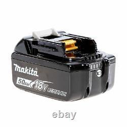 Makita 1/2in Drive Lxt Brushless Impact Wrench 18 Volt 2 X 5.0ah Li-ion 1600nm