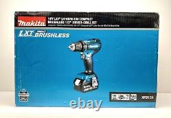 Makita 18-volt Lxt Li-ion Sans Brosse Cordless 1/2 In. Kit Driver-drill 3.0ah Nouveau
