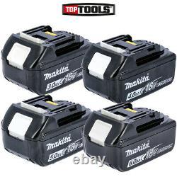 Makita 18v 3ah / 4ah / 5ah/ 6ah Li-ion Lxt Battery Pack (choix Multiple)