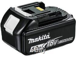 Makita Bl1860bx2 2 X 18v 6ah Lxt Li-ion Véritable Makstar Batterie