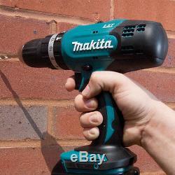 Makita Dbo180z 18v Lxt Li-ion Sans Fil Sander Avec Makita Dhp453z Drill Combi