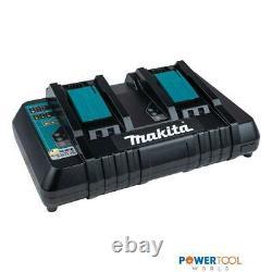 Makita Dc18rd 14.4-18v Lxt Li-ion Double Port Twin Rapid Optimum Charger 240v