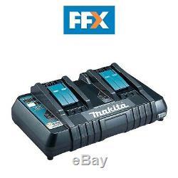 Makita Dc18rd 14.4v De Lxt Li-ion Double Port Rapide Chargeur De Batterie + Usb