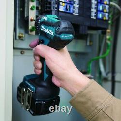 Makita Ddf083z 18v Lxt Li-ion 6.35mm Conducteur De Forage Sans Fil 1/4 Hex Bare Tool