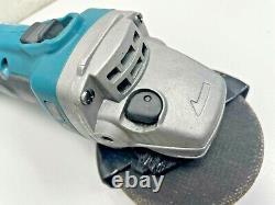 Makita Dga452 Grinder D'angle Sans Fil Lxt 18v Li-ion + Bl1850b 5.0ah Batterie