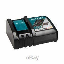 Makita Dhp482rtwj 18v Li-ion Lxt Sans Fil Combi Drill 2 X Bl1850b Batteries