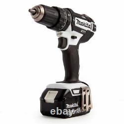 Makita Dhp482rtwj 18v Lxt Li-ion Combi Drill Avec 2 Batteries X 5.0ah & Chargeur
