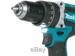 Makita Dhp484z De Lxt Li-ion Brushless Combi Drill Unité Nu