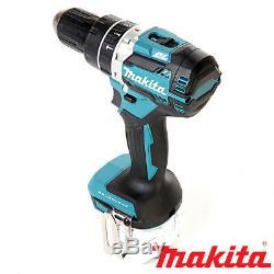 Makita Dhp484z De Lxt Li-ion Sans Fil Brushless Combi Marteau Boîtier Nu