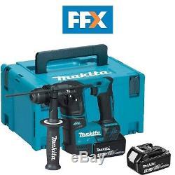 Makita Dhr171rmj De Lxt 2x4.0ah De 17mm Li-ion Sds Plus Perforateur Kit