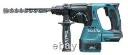 Makita Dhr242rf 18v Lxt Li-ion 3 Mode 3kg Sds Rotatif Hammer Drill +3.0ah+charger