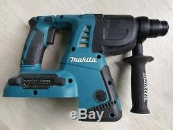 Makita Dhr263 Jumeau 18v Li-ion (36v) Lxt Sds Plus Sans Fil Rotary Hammer Drill