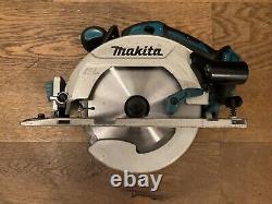 Makita Dhs680z 18v Lxt Li-ion Sans Brosse 165mm Scie Circulaire (ordre De Fonctionnement Complet)