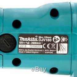 Makita Djv180z 18v Li-ion Sans Fil Lxt Corps Jigsaw Uniquement