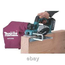 Makita Dkp180z 18v Li-ion Lxt Planeur Brossé Sans Fil 2mm Profondeur De Coupe Bare