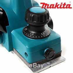 Makita Dkp180z 18v Lxt Li-ion 82mm Sans Fil Planer Boîtier Nu Ex Bkp180z