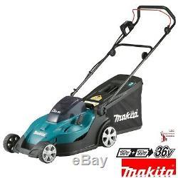 Makita Dlm431z Double 18v / 36v Lxt Li-ion Sans Fil 43cm Lawn Mower Corps Seulement