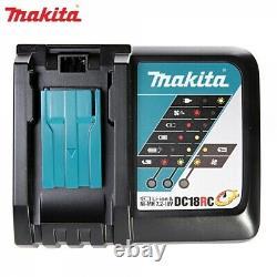 Makita Dlx2131tj 18v Li-ion Lxt Combi & Impact Twin Pack Avec Batteries 2 X 5ah