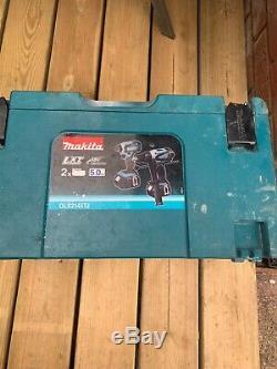 Makita Dlx2145tj 18v 2 X 3,0 Ah Li-ion Combi Marteau Driver Impact Drill Kit Lxt
