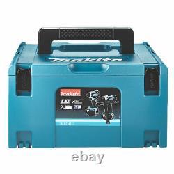 Makita Dlx2145tj 18v 5.0ah Li-ion Lxt Cordless Combi Drill & Impact Driver Twin