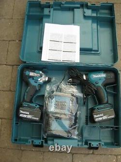 Makita Dlx2336s 18v 3.0ah Li-ion Lxt Sans Cordless Twin Pack Drill - Impact Set
