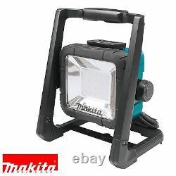 Makita Dml805 110v / 18v Lxt Li-ion Sans Fil Led Floor Work Light / Corded Uk