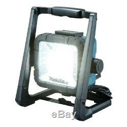Makita Dml805 18v / 14.4v / 110v Lxt Li-ion Led Light Work Site Twin Pack Lumière