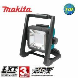 Makita Dml805 18v Lxt Li-ion Sans Fil Et 110v Corded Led Travail Corps De Lumière Seulement