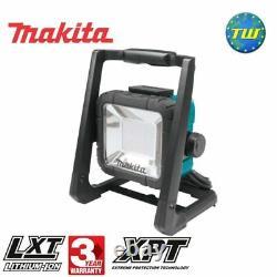 Makita Dml805 18v Lxt Li-ion Sans Fil Et 240v Cordé Led De Travail Corps De Lumière Uniquement