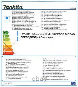 Makita Dml805 240v / 18v Lxt Li-ion Sans Fil Led Floor Work Light / Corded Uk