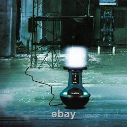Makita Dml810/2 18v X2 Lxt Liion Sans Fil Verticale 5500 Lumen Led Site Light New