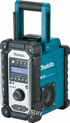 Makita Dmr109 10.8v-18v Lxt / Cxt Li-ion Emploi Radio Site (unité Nu)