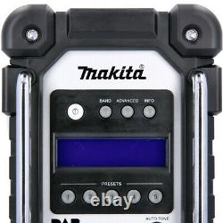 Makita Dmr109 10,8v/18v Lxt/cxt Li-ion Dab Site D'emploi Corps Radio Seulement